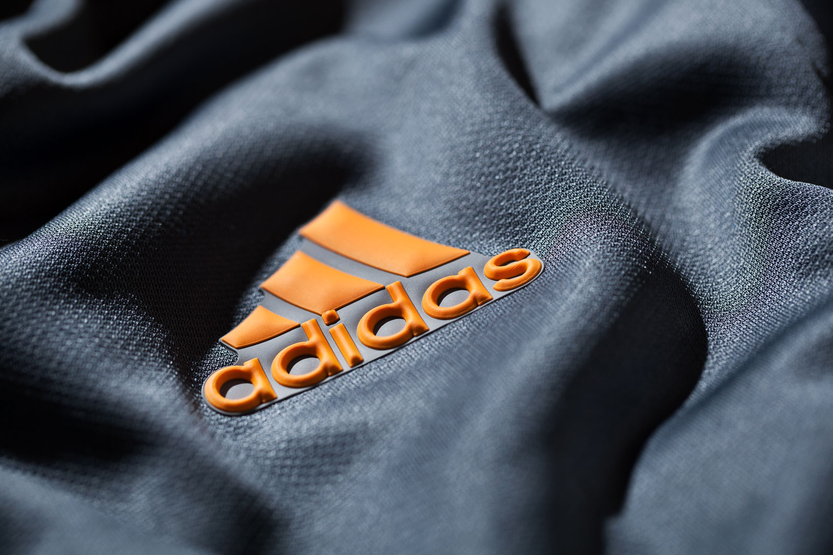 Product Photography Gear Adidas Quarter Zip Mens Athletic Pullover Gray Orange Logo
