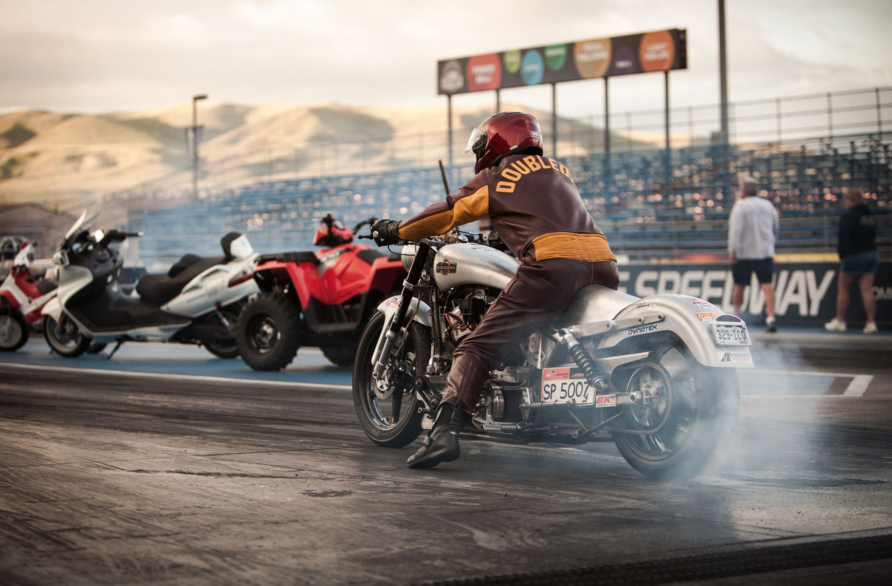 03 Location Photography Dan Schrock Photographer Location Bandimere Speedway Denver Colorado Motorcyle NHRA Dragtrack