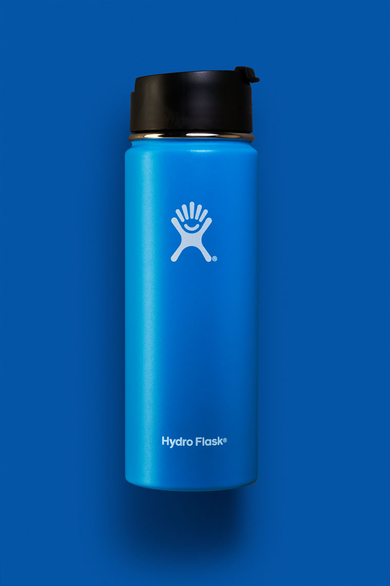 Hydro Flask Vibrant Blue on Blue