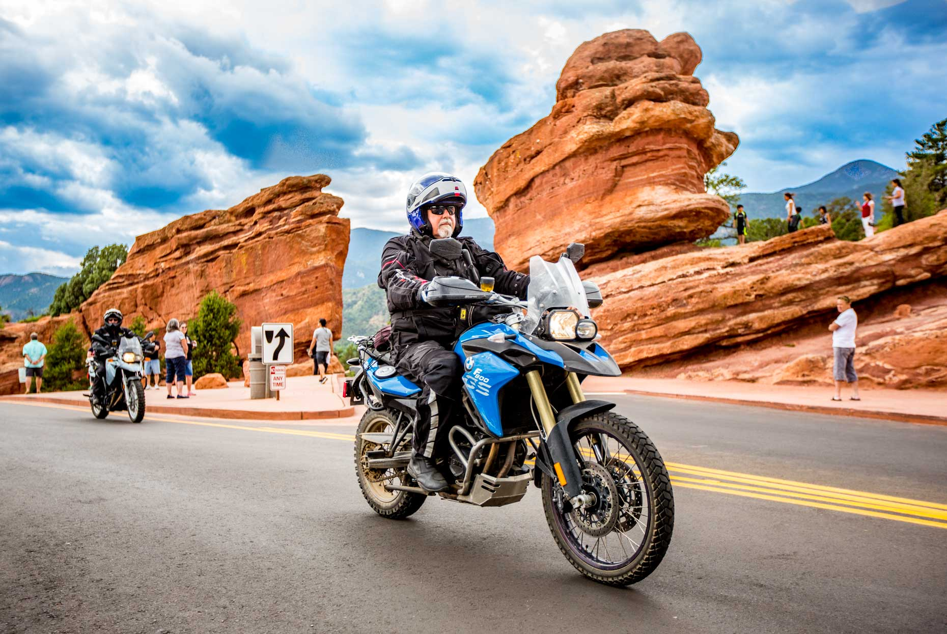 04 Motorcycle Relief Project BMW GS Adventure Riding PTSD Veterans Garden of the Gods