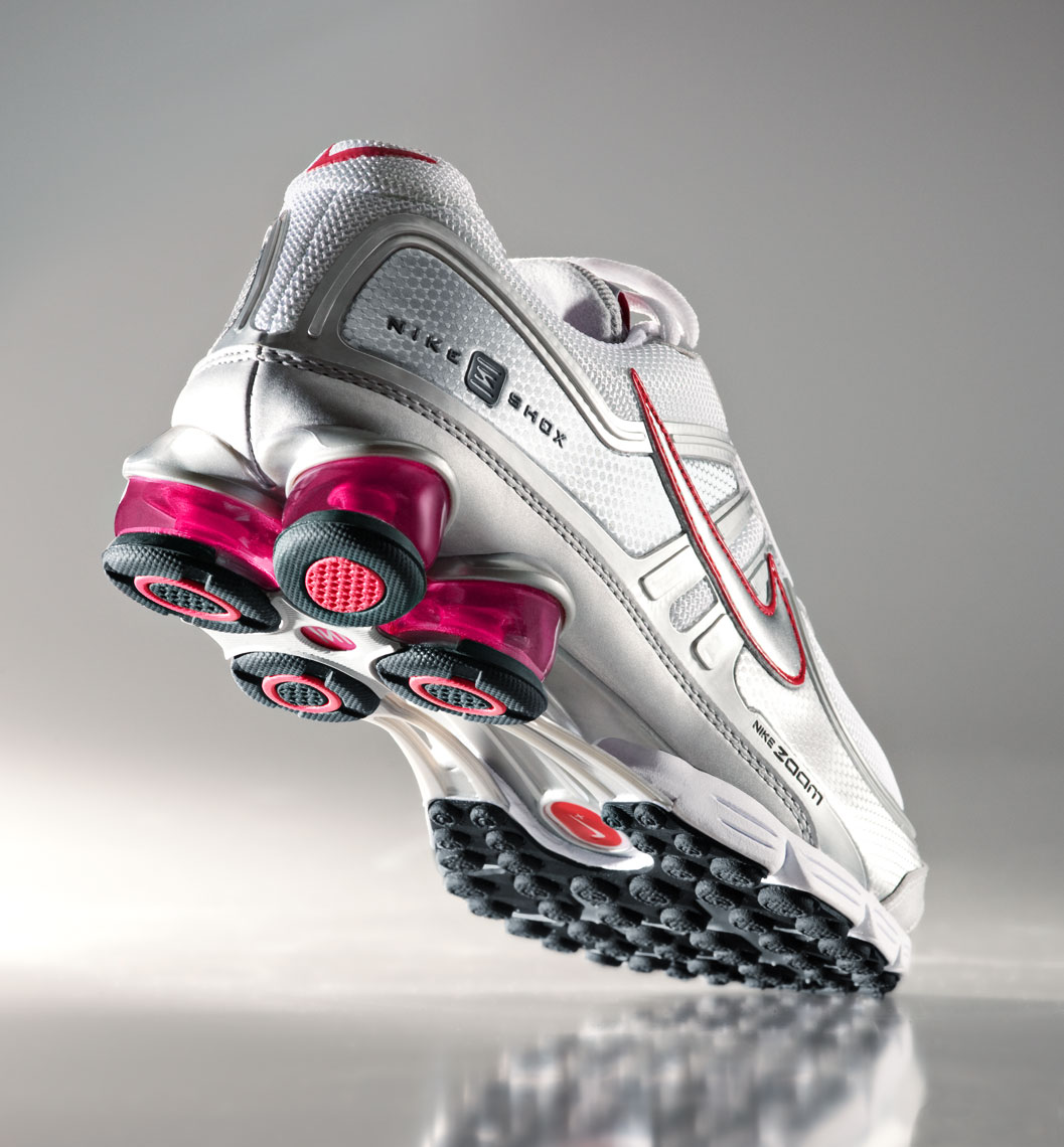 Product Photography Nike Shox Women
