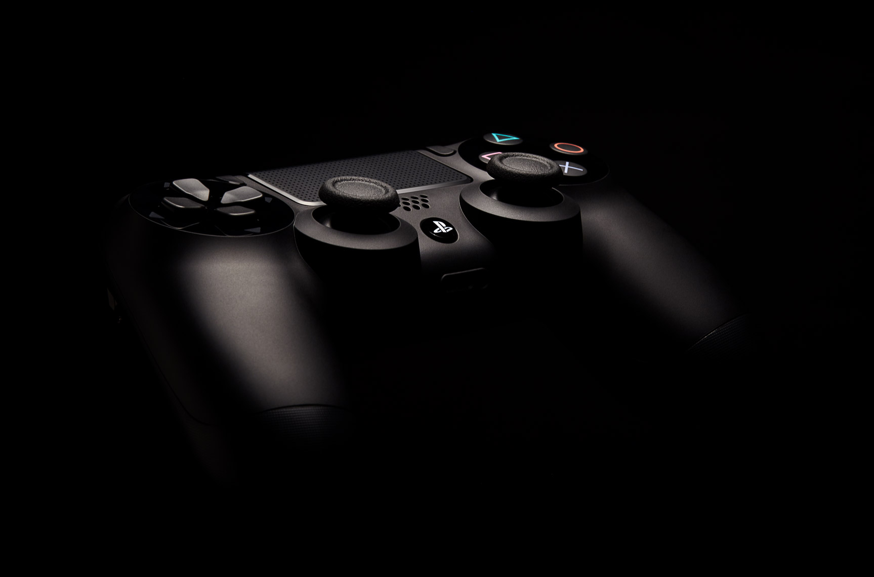 Product Photography Gadgets Sony Playstation 4 Dual Shock Controller Floating in Space Denver