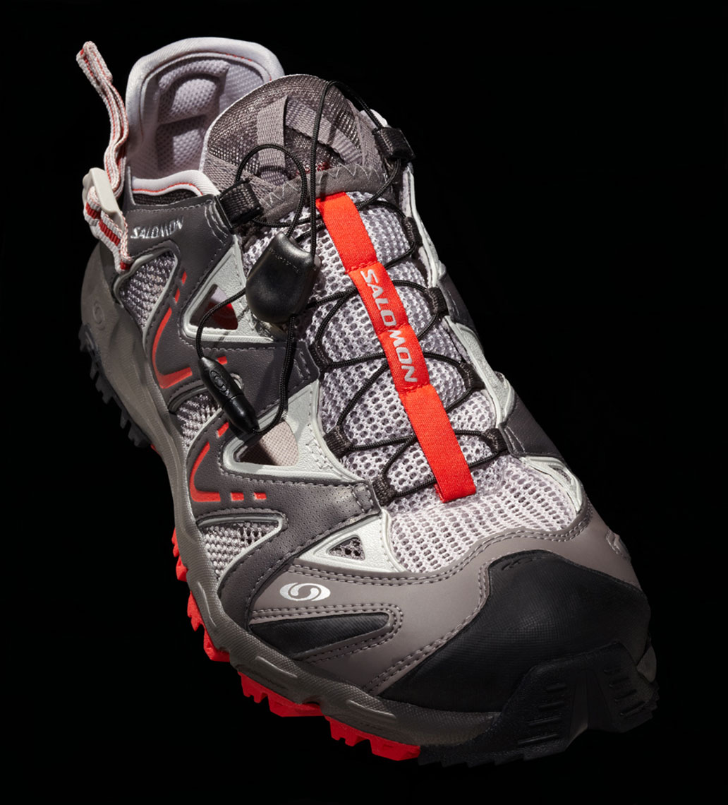 Product Photography Gear Salomon Hiker Mesh Quick Tie Shoes Chicago