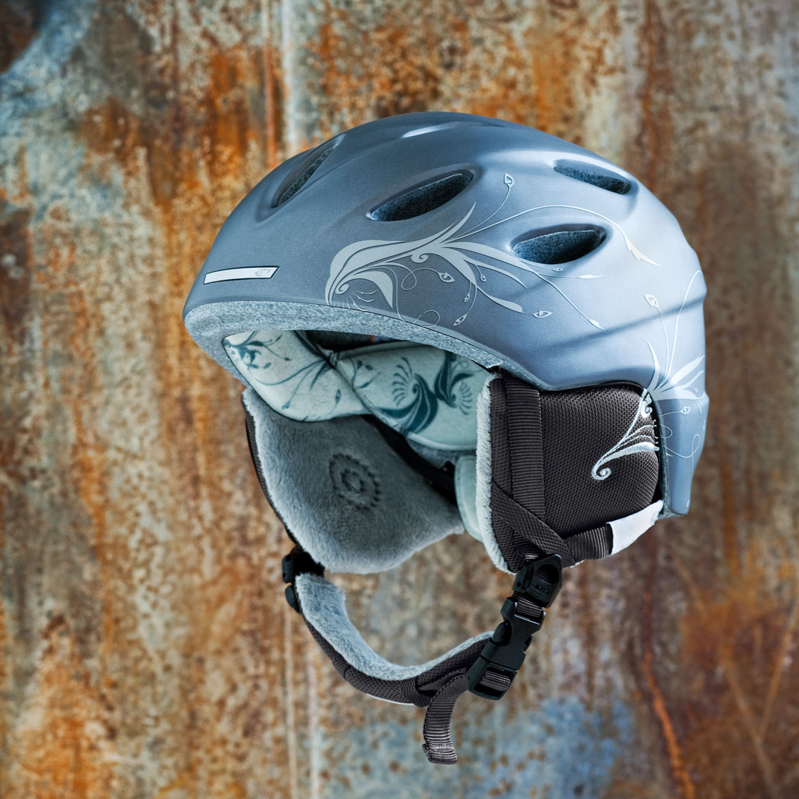 Product Photography Gear Smith Womens Snow Ski Snowboard Matte Graphite Helmet Chicago
