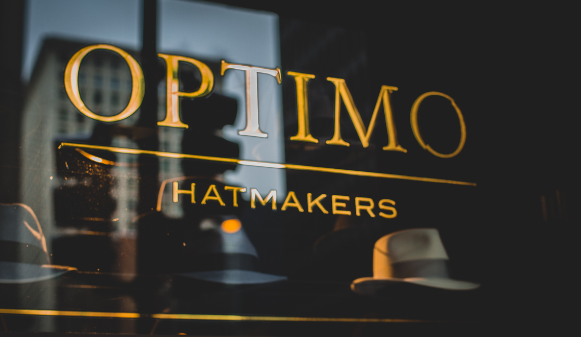 01 Optimo Hats Chicago Fedora Graham Thompson Best Hats Made Monadnock